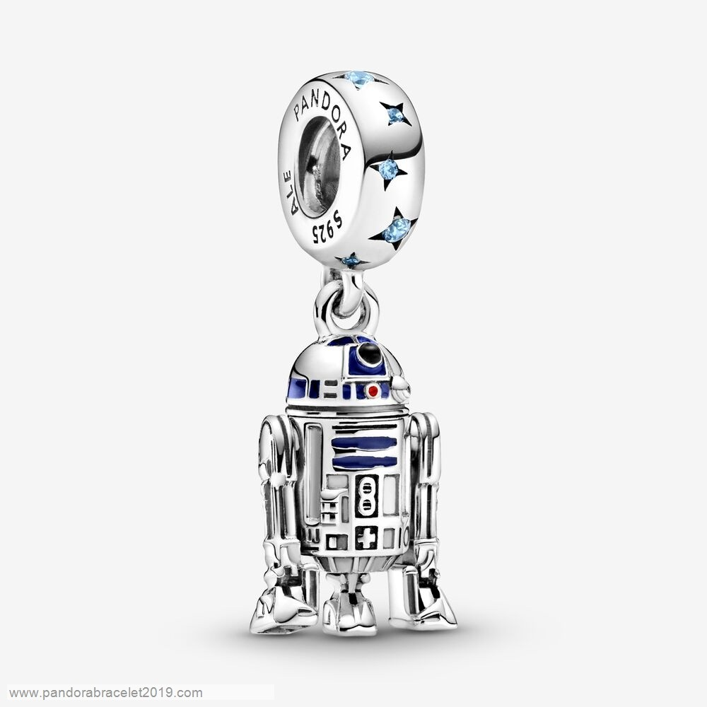 Magasins Pandora Star Wars R2 D2 Dangle Encanto